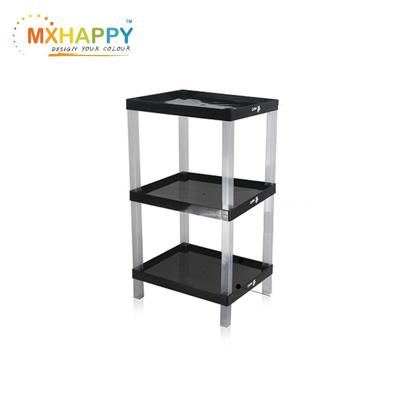 View:Display Racks Plastic Shelves Plastic Display Stand Supermarket shelf