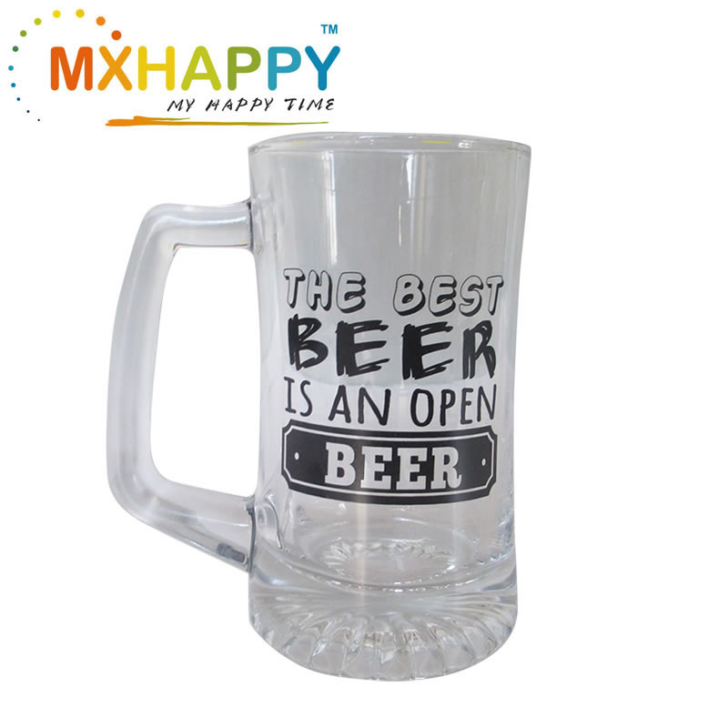 Glass Beer Stein  Promotion Mug Wholesale Beer Mug