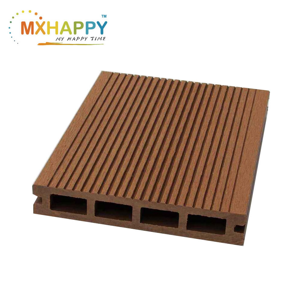 WPC Decking Floor Wood Plastic Composite Decking Board Engineer Floor Hollow WPC Decking Outdoor