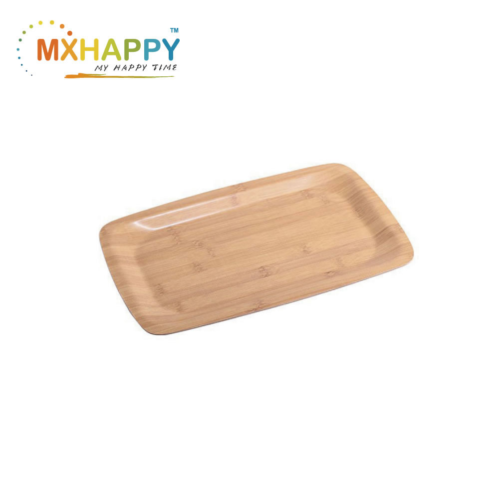 View:Bamboo Food Serving Tray