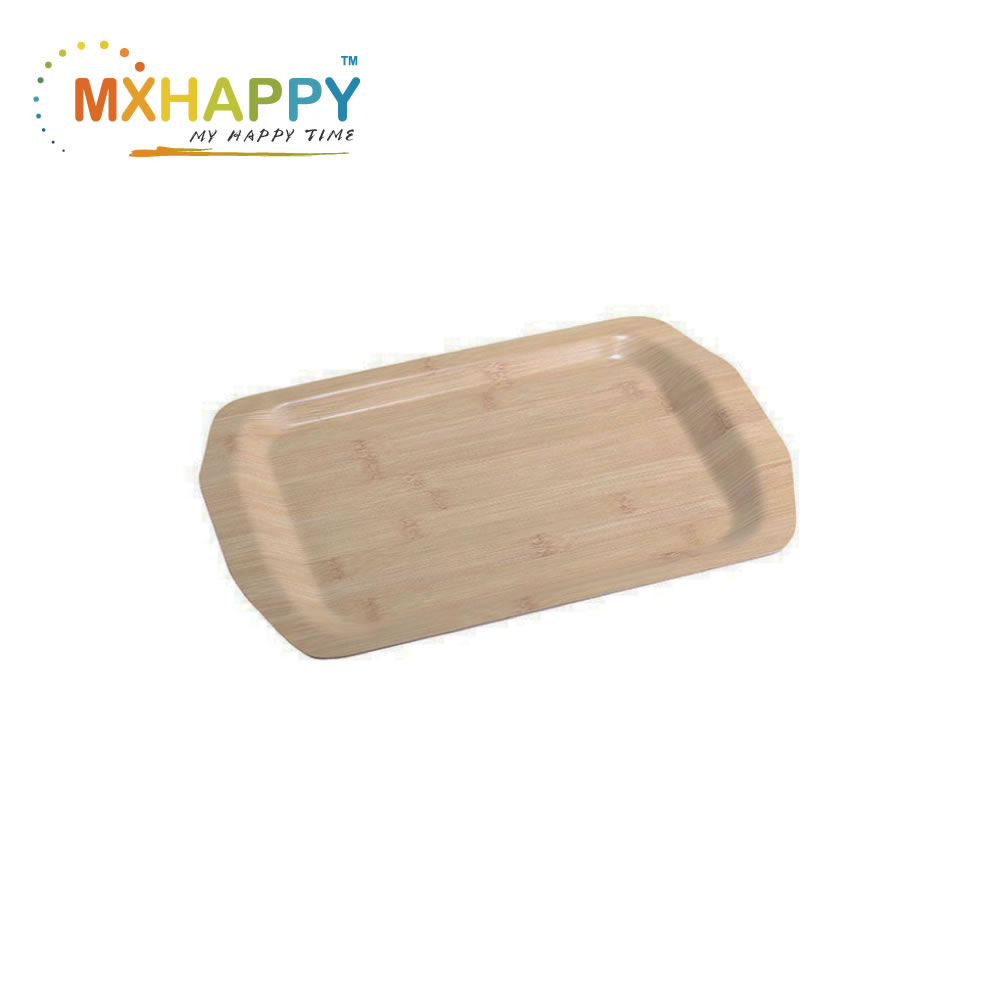 View:Bamboo Tray Bent wood Tray Cheese Board Tray