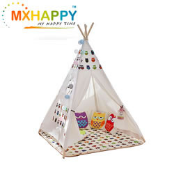 Kids Teepee Tent Canvas Teepee for Kids