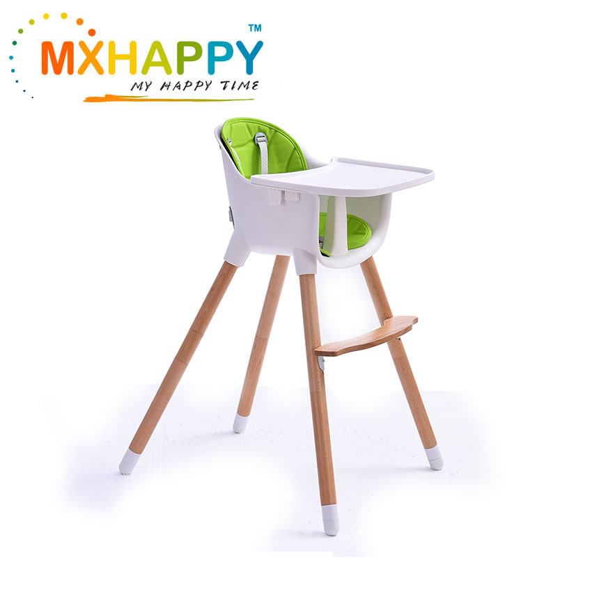 View:Wooden High Chair