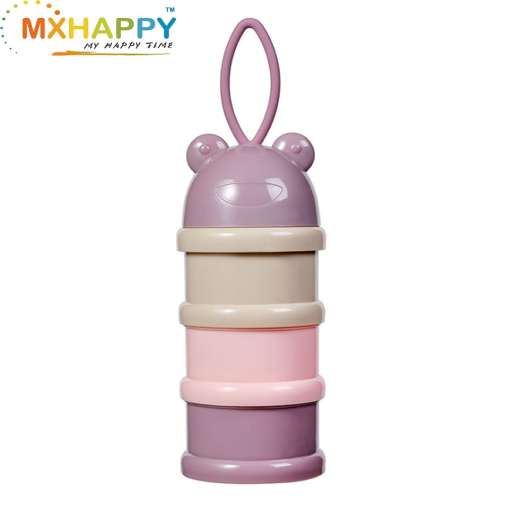 View:3 layers Baby Milk Power Container