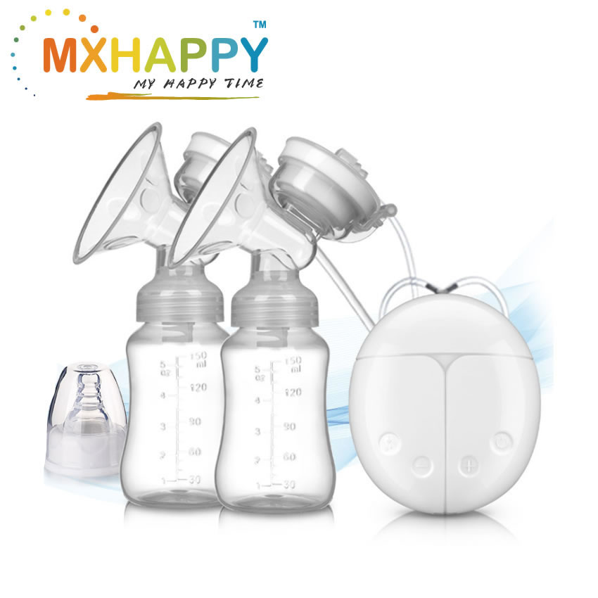 View:USB Electric Double Breast Pump