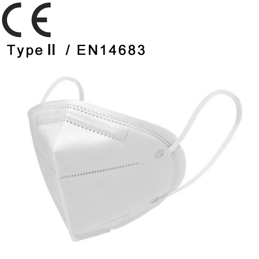 TYPE Ⅱ EN14683 Mask,Disposable Medical Mask,PM2.5 Anti Pollution Surgical Mask, Anti Dust, Virus,Smoke, Gas, Allergies, Germs and Personal Protective Equipment
