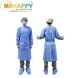 Non-Sterile Disposable Isolation Gown AAMI I / 2 / 3 / 4 FDA CE