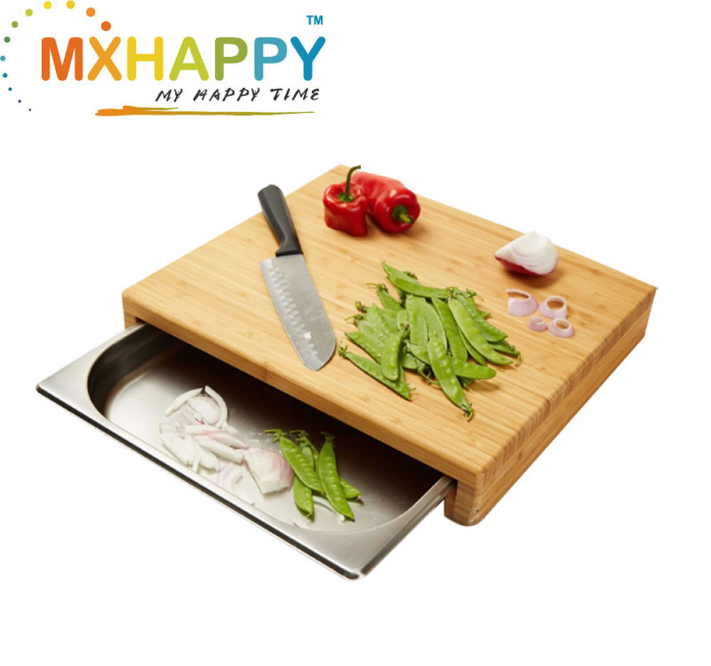 View:Bamboo Cutting Board  With Try