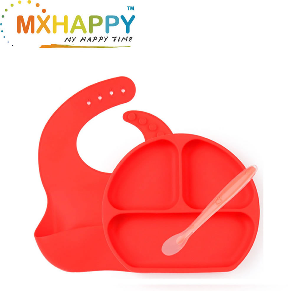 Silicone Portable Non Slip Suction Plates