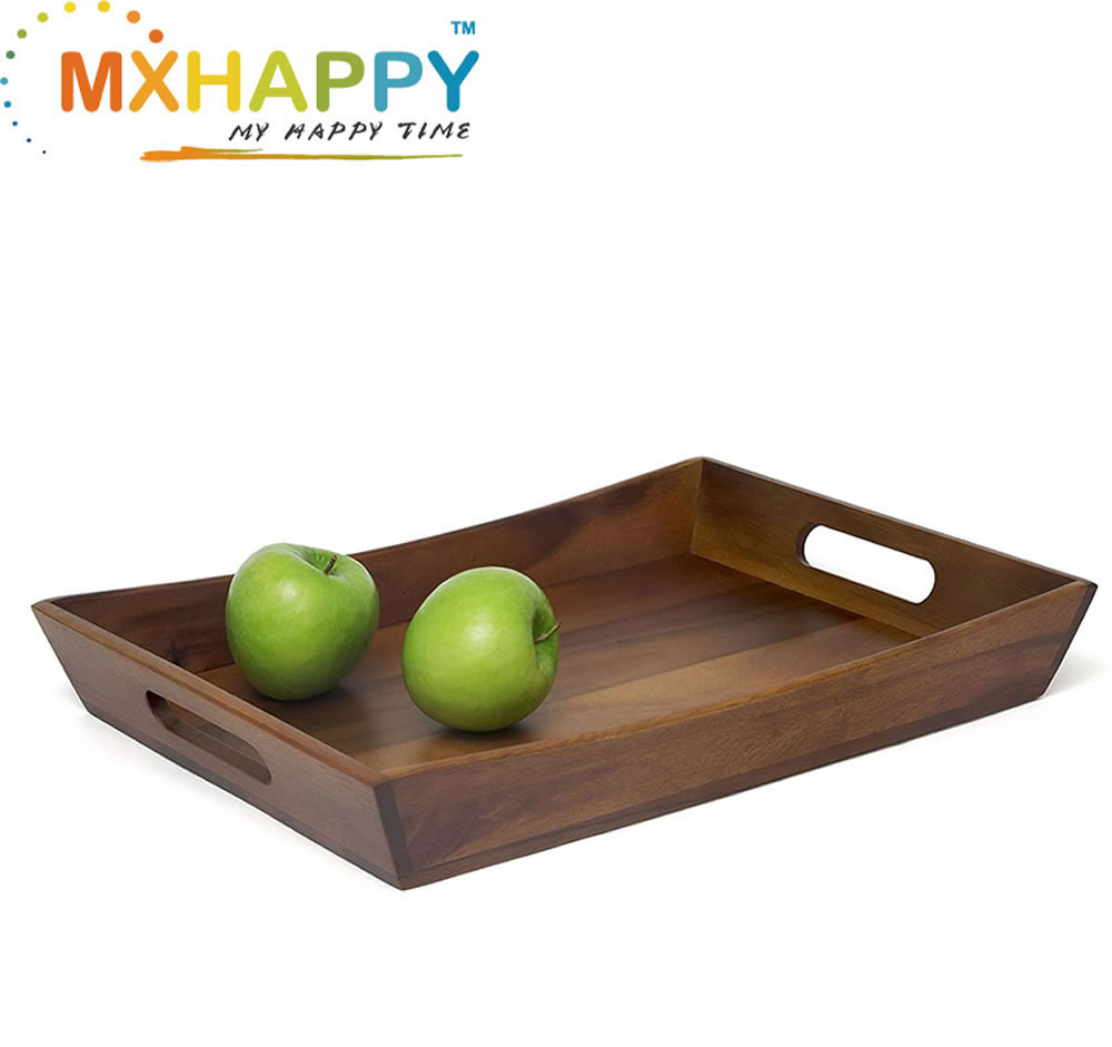 View:Acacia Curved Serving Tray