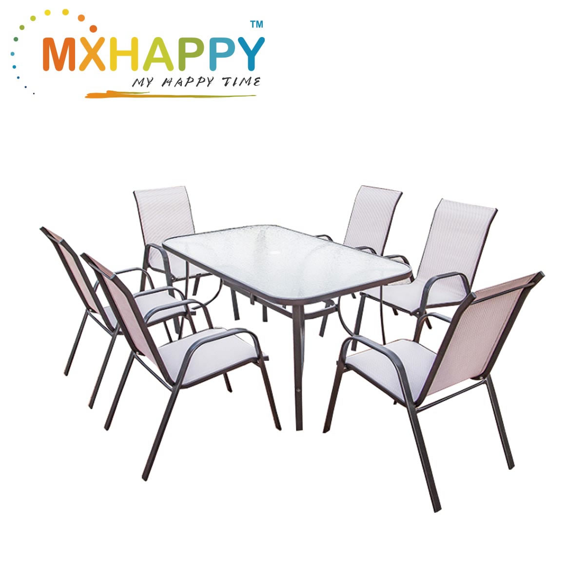 View:Outdoor Dinning Table Chairs Set