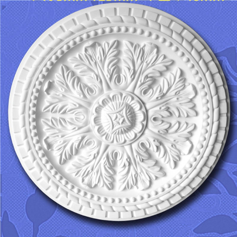 PU Decorative Square Ceiling Medallions/Ceiling Roses Construction